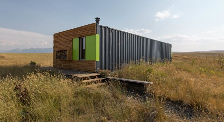 Modern home project container