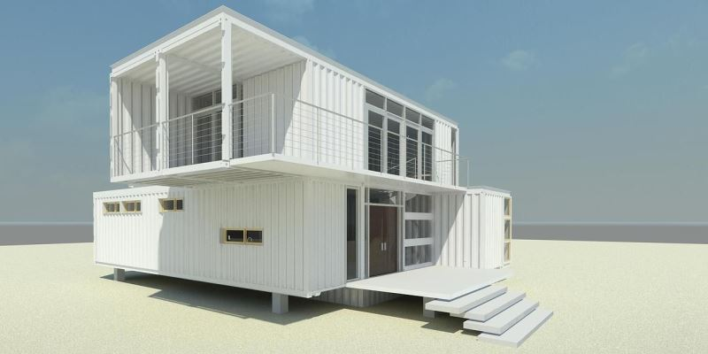 Modern living container home