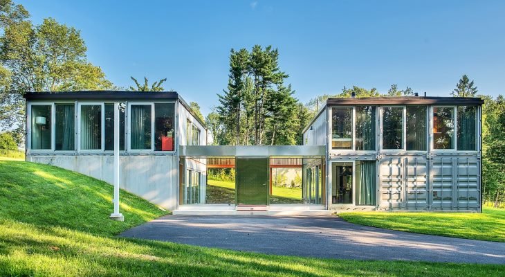 The best container house design