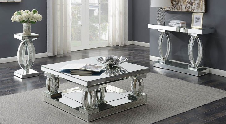 Things To Remember When Buying A Mirrored Cocktail Table