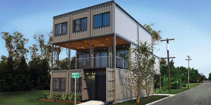 Visit a container home