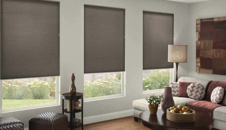 Allen roth cordless cellular shade