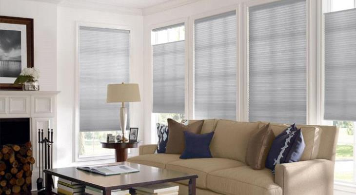 Cordless cellular shades levolor