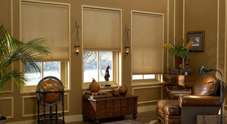 Cordless cellular shades work
