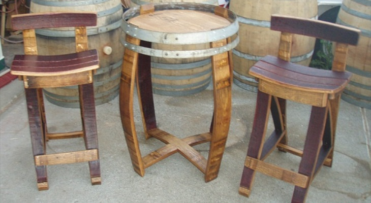 Making Your Own Wine Barrel Furniture